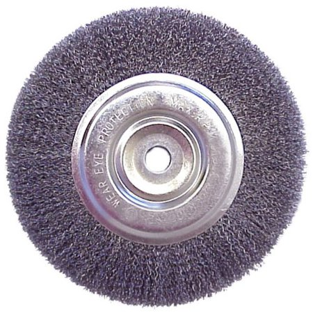 6 Quot Wire Brush Wheel For Bench Grinder Great For Use With