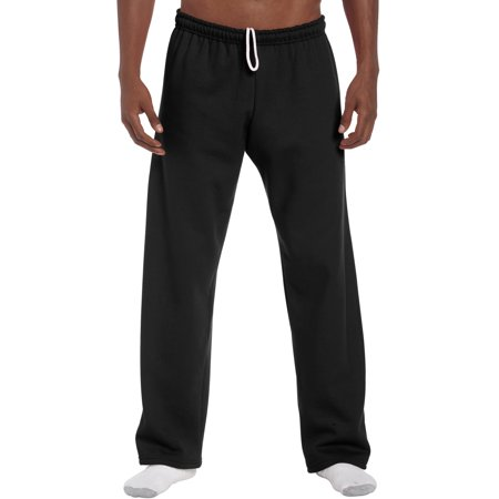 Gildan Men's Heavy Blend Open Bottom Pocketed Sweatpant (Grizzlies Sweatpants)