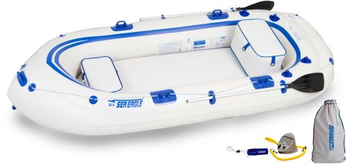 Sea Eagle SE9 Inflatable Motormount Boat Start Up Package by Sea Eagle Boats, Inc.