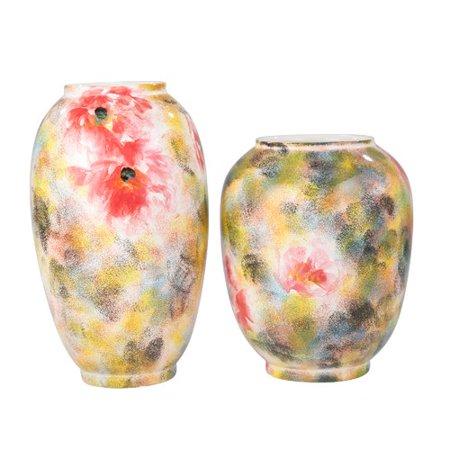 Alcott Hill Gunn Decorative Ceramic Rose Mix Table Vase