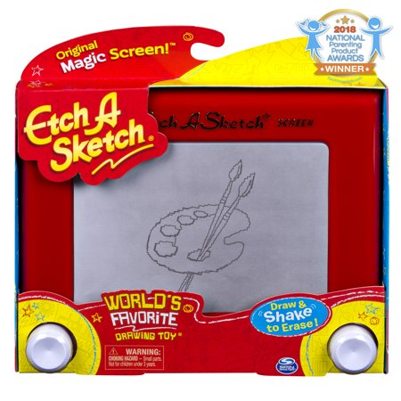 Etch A Sketch, Classic Red Drawing Toy with Magic Screen, for Ages 3 and - Etch A Sketch Pen