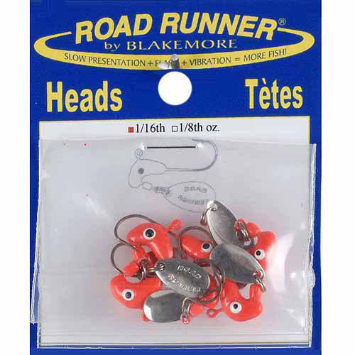 Road Runner Heads, 1/16 oz