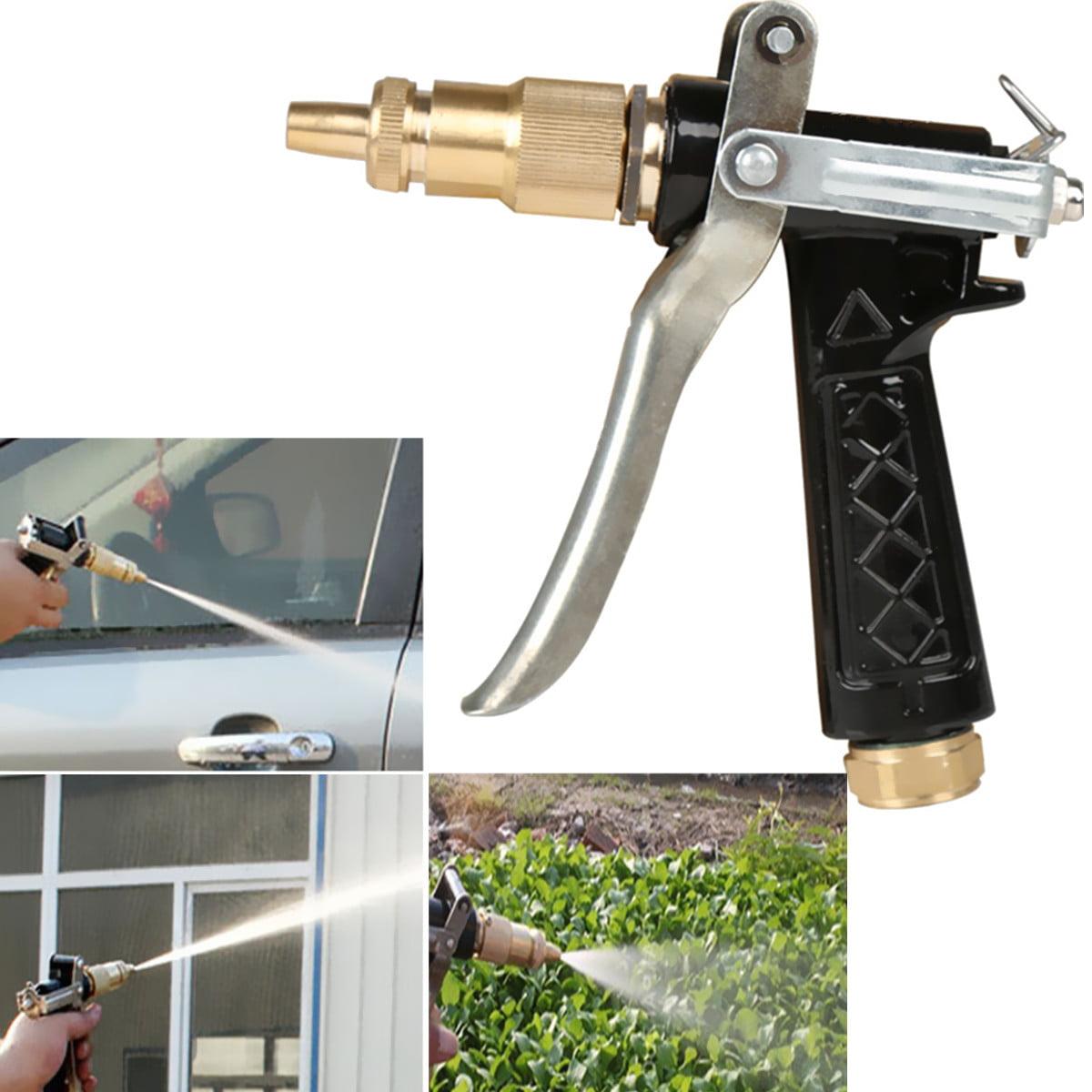 Metal High Pressure Sprayer Gun Hand Brass Metal Hose Nozzle Water Wash
