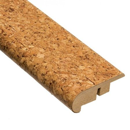 Home Legend 78 39 39 Lisbon Stair Nose Molding Cork In Natural