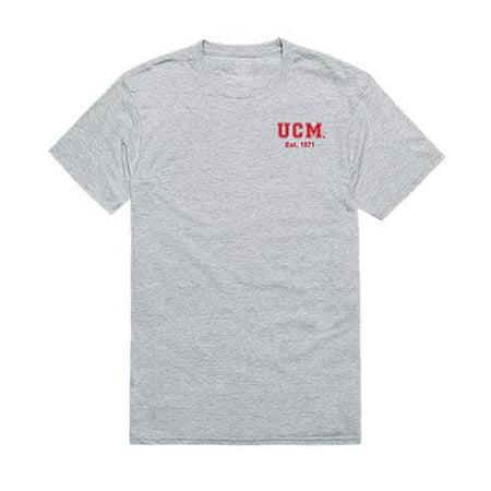 W Republic Apparel 528-209-HGY-02 University of Central Missouri Practice Tee Shirt - Heather Gray, Medium - image 1 of 1
