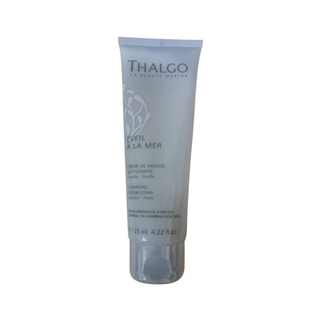 Thalgo Cleansing Cream Foam (Whamisa Organic Flowers Foam Cleansing Cream Review)