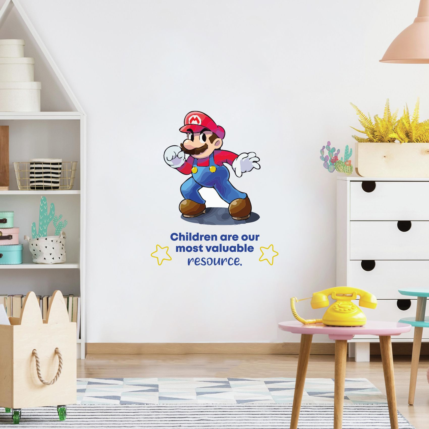 Valuable Super Mario Life Quote Cartoon Quotes Decors Wall Sticker Art Design Decal For Girls Boys Kids Room Bedroom Nursery Kindergarten Home Decor Stickers Wall Art Vinyl Decoration 10x8 Inch Walmart Com
