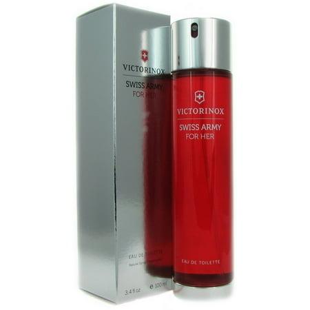 Victorinox Swiss Army Eau de Toilette Spray For Her 3.4 oz ()