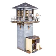 Walking Dead McFarlane Toys The Prison Tower Building Set - AMC TV Series - Fun to Assemble - A Centerpiece to Your Collection