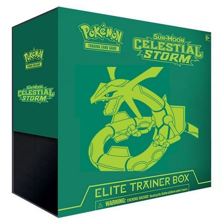 Pokemon TCG: Sun & Moon Celestial Storm Elite Trainer Box Trading Cards (Elite Basketball Card Box)