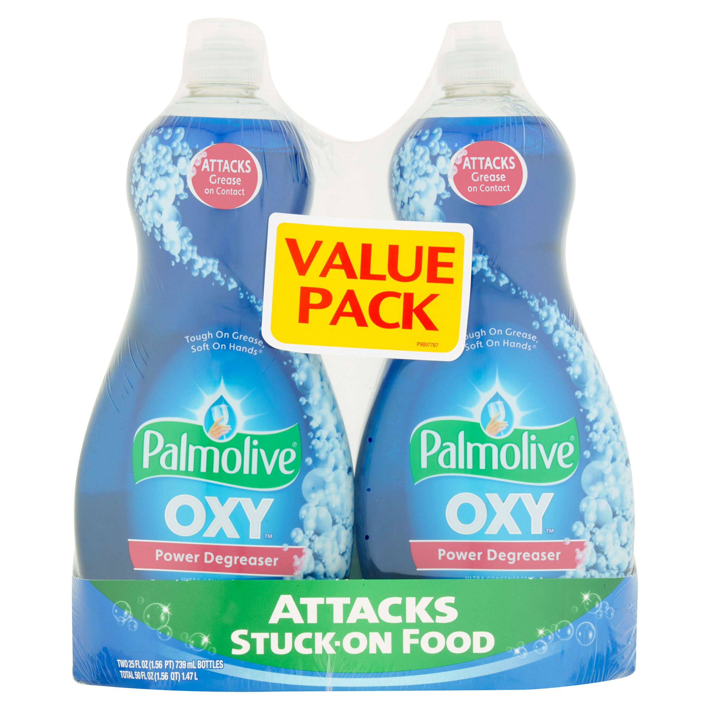 Palmolive Ultra Dish Liquid, Oxy Plus Power Degreaser, 25 fl oz Twin Pack