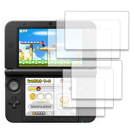 Nintendo 3DS XL Screen Protector Covers, EMPIRE Nintendo 3DS XL 3 Pack of Invisible Screen