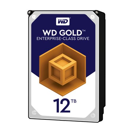 WD 12 TB GOLD ENTERPRISE-CLASS HARD DRIVE