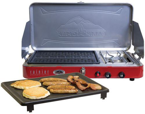 Camp Chef Rainier Campers Combo Stove