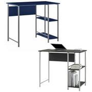 Desk Set, Mainstays Basic Metal Student Desk - Mainstays Computer Desk, Multiple Colors