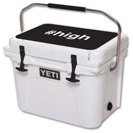 MightySkins Skin For YETI Roadie 20 qt Cooler Lid | Protective, Durable, and Unique Vinyl Decal wrap cover | Easy To Apply, Remove, and Change Styles | Made in the