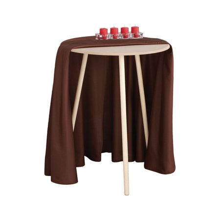Round Table With Tablecloth.Mainstays 20 Round Decorative Table Walmart Com
