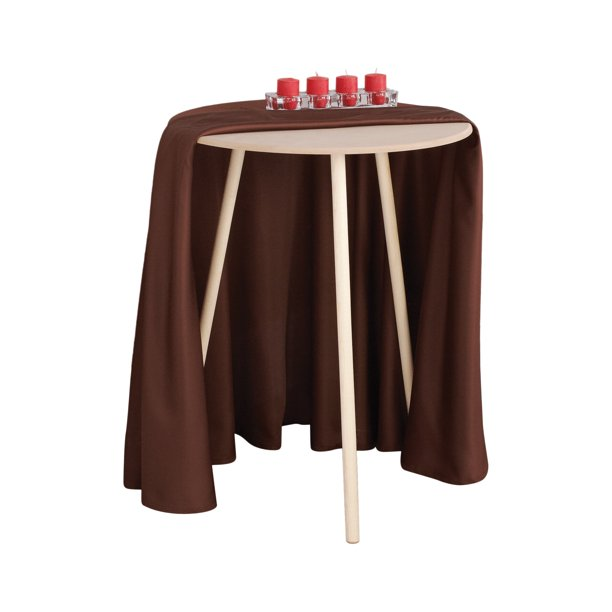 Mainstays 20 Round Decorative Table Walmart Com Walmart Com