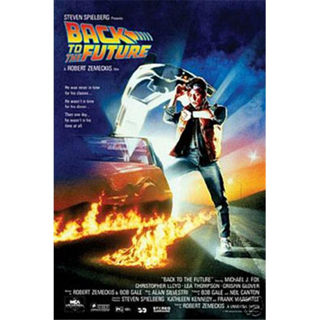Hot Stuff Enterprise 4121-24x36-MV Back to The Future Poster