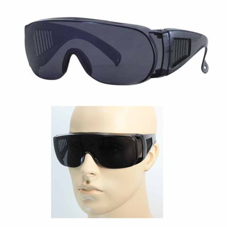 a339b092308 ASIA PACIFIC - 1 Pc Large Fit Over Sunglasses Safety Cover All Lens UV Protection  Glasses Black - Walmart.com
