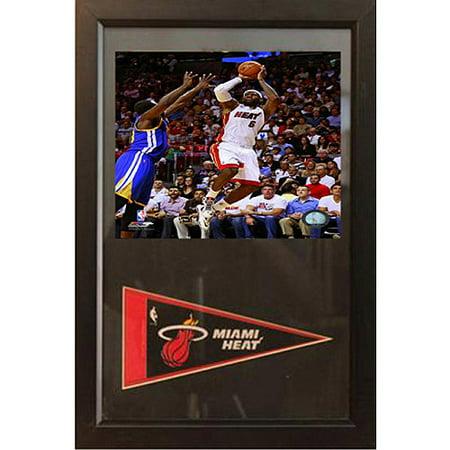 NBA LeBron James Pennant Frame, 12x18 - Pennant Frame