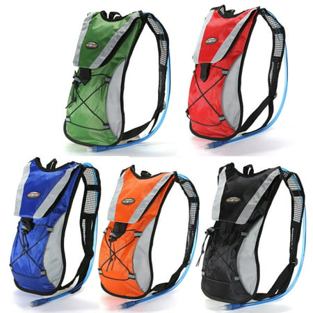 7b09c9a9ec Hydration Water Reservoir Bladder Backpack Cycling Bag Hiking Climbing Backpacks  Pouch 2L(without 2L Water Bladder) - Walmart.com