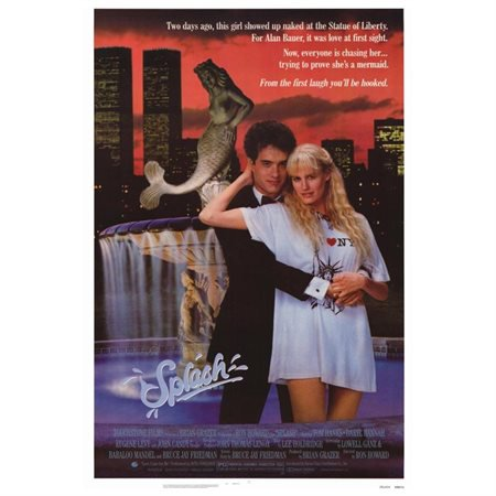 Splash POSTER Movie Mini Promo - Eugene Halloween