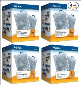 Aqueon 48-Pack Filter Cartridges for Aquarium, Large