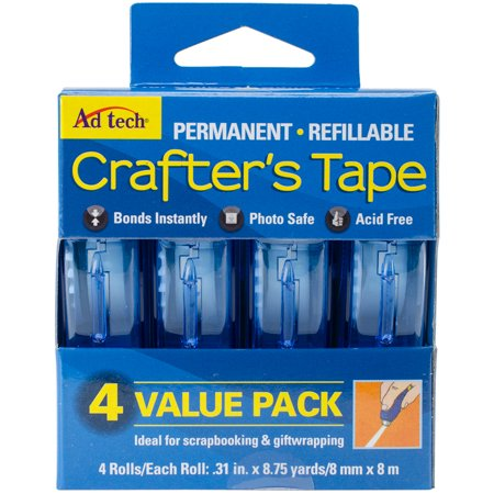 AdTech Crafter's Permanent Tape, 4 Piece (Almost Tape)