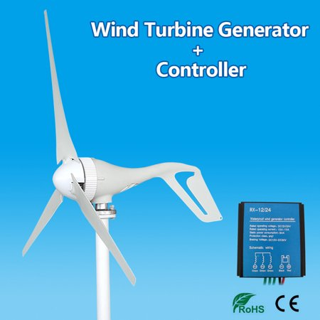 Feature:-Automatically adjust wind direction-High wind energy conversion rate-Strong wind resistance ability-High cost-performance-Low vibration and low noiseSpecification:Model:NE-200S3Rated - image 1 of 10
