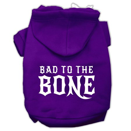 Bad to the Bone Dog Pet Hoodies Purple Size Sm (10) A poly/cotton sleeved hoodie for cold weather days, double stitched in all the right places for comfort and durability!Product Summary : New Pet Products/Screen Print Hoodies/Bad to the Bone Dog Pet Hoodies@Pet Apparel/Dog Hoodies/Screen Print Hoodies/Bad to the Bone Dog Pet Hoodies@Pet Apparel/Dog Hoodies/Screen Print Hoodies COPY/Bad to the Bone Dog Pet Hoodies