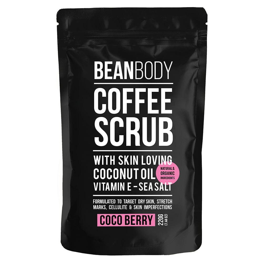 Mr. Bean Body Coffee Scrub With coconut Oil Coco Berry 220g