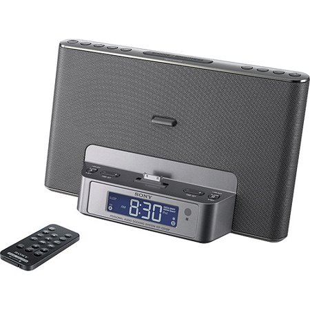 sony icfcs15ipsil dual alarm clock am fm radio perp with ipod iphone dock. Black Bedroom Furniture Sets. Home Design Ideas