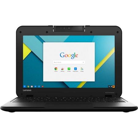 Manufacturer Refurbished Lenovo N22 Series Chromebook 11.6-Inch (2GB RAM, 16GB HDD, Intel Celeron