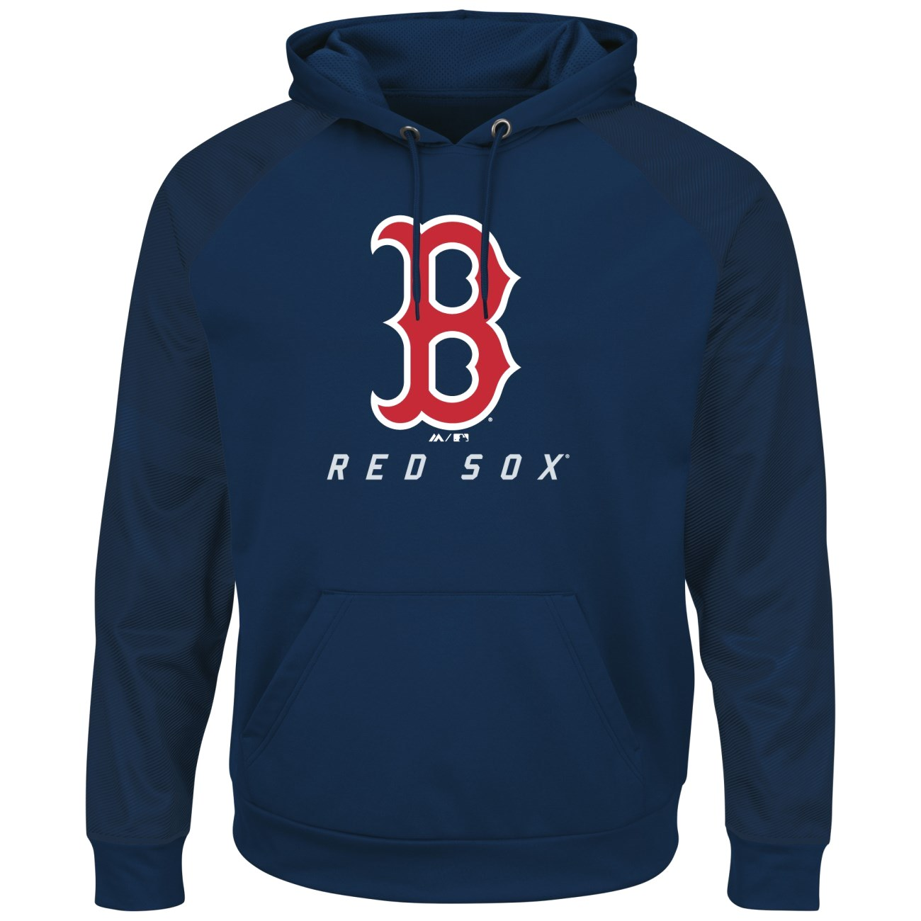 "Boston Red Sox Majestic MLB ""Armor 2"" Men's Pullover Hooded Sweatshirt"