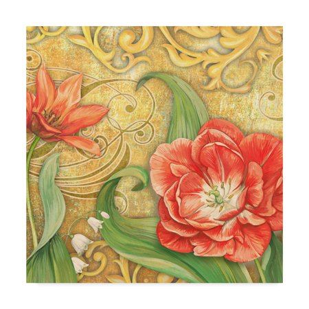 3 Arm Tulip - Trademark Fine Art 'Red Tulips 3' Canvas Art by Maria Rytova