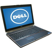 "Refurbished Dell Black 15.6"" Latitude E6"
