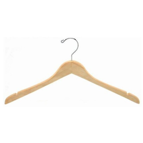 Only Hangers Inc. Contoured Wooden Coat Hanger (Set of 25)