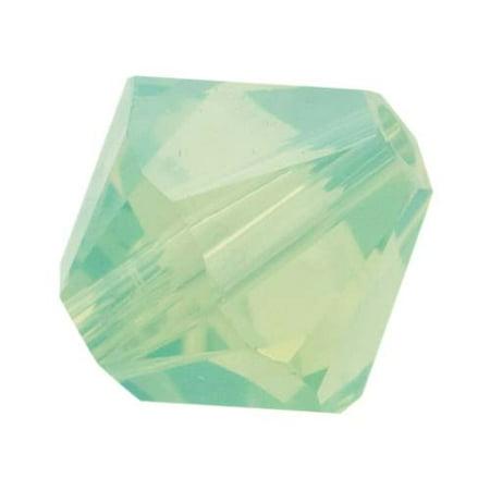 Chrysolite Bicone (Swarovski Crystal, #5328 Bicone Beads 4mm, 24 Pieces, Chrysolite Opal )