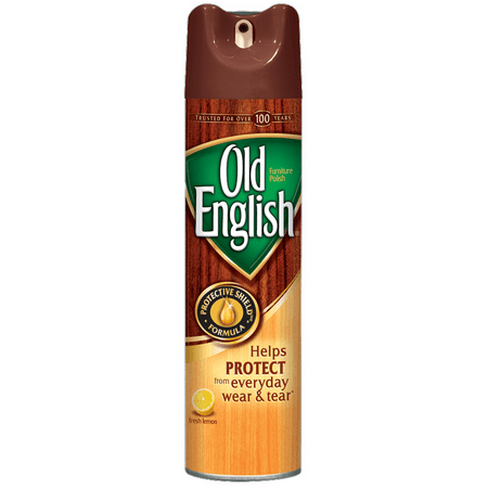 (2 pack) Old English Furniture Polish, Lemon 12.5oz Can ()
