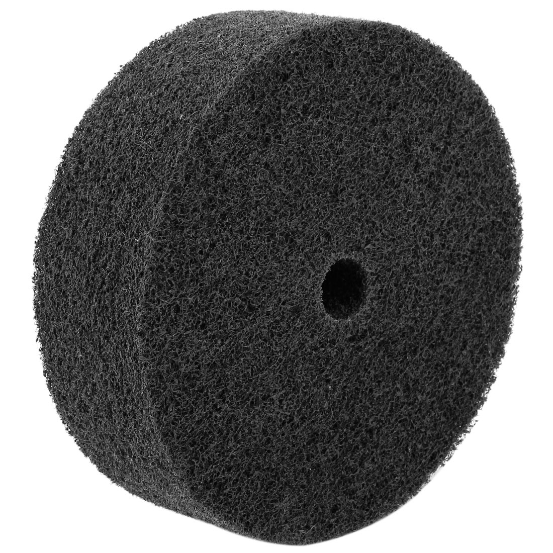 Nylon Fiber Cylindrical Grinding Wheel Black 155mmx18mmx50mm