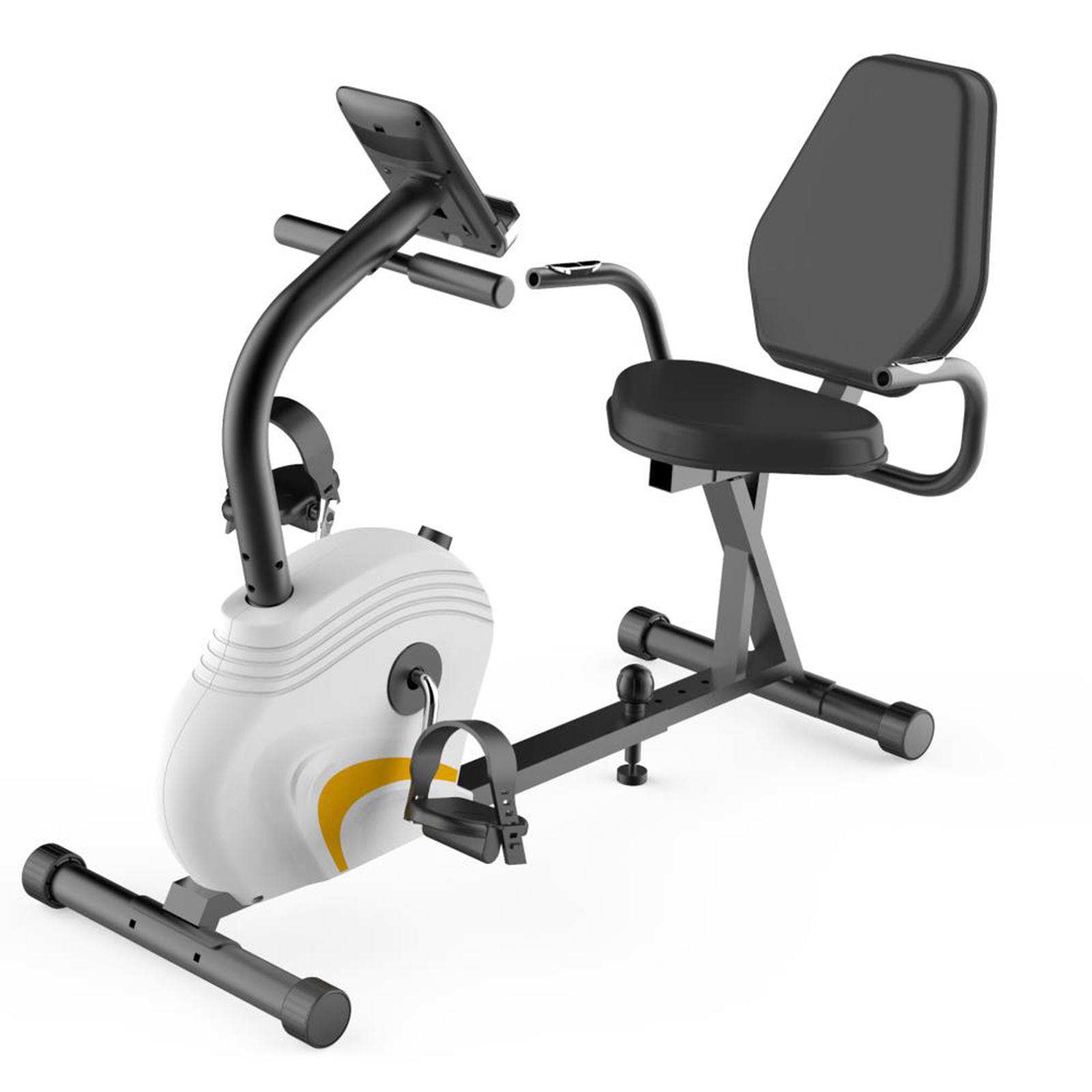 Home/Office Recumbent Exercise Bike - Bicycle Pedaling Fi...