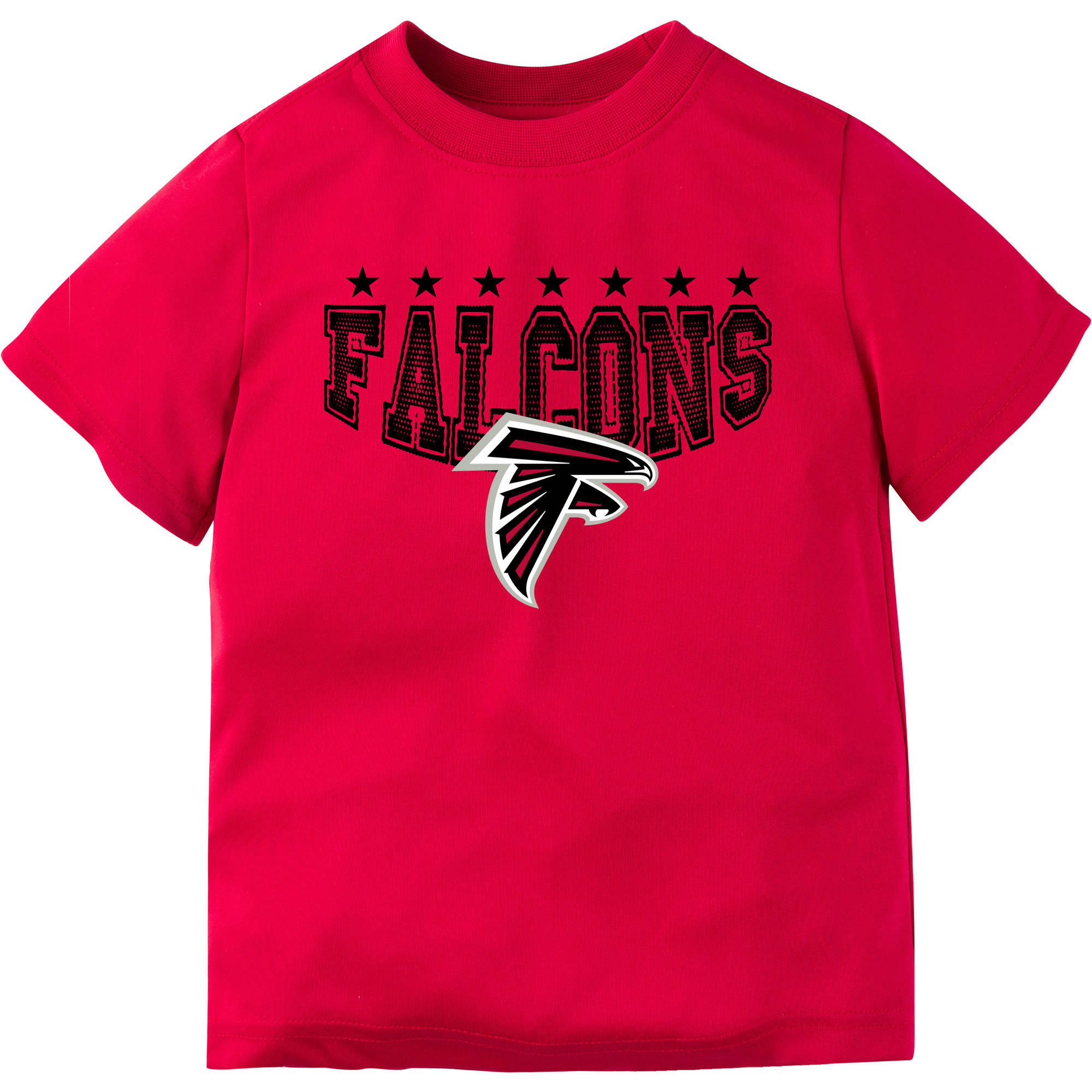 NFL Atlanta Falcons Boys Short Sleeve Performance Team T Shirt