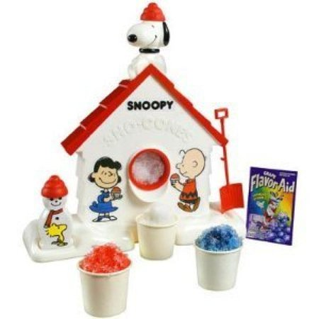 Snoopy Sno Cone Machine -