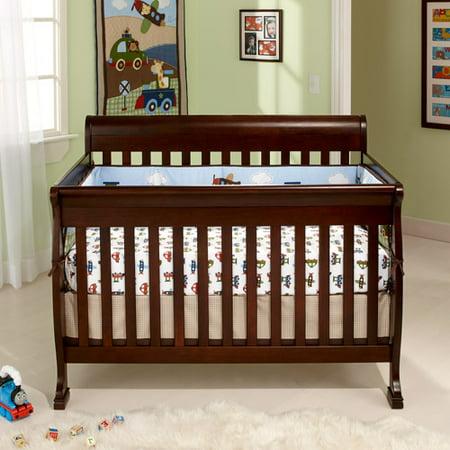 Baby Mod Cadence 4 In 1 Convertible Crib Espresso