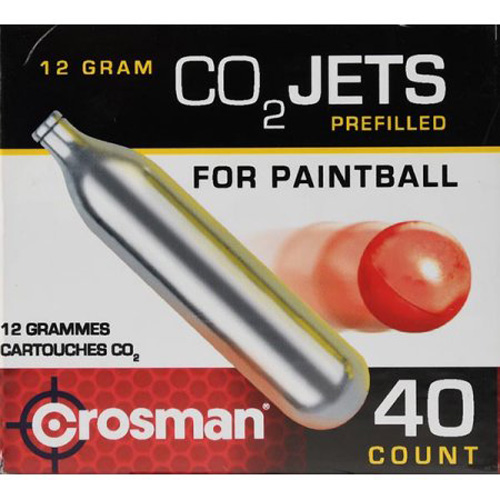 Crosman Powerlet CC40PB CO8 40 Count CO2 Paintball by Crosman