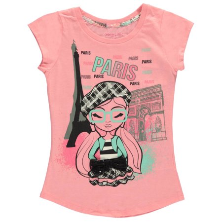 colette lilly big girls 39 paris cool t shirt sizes 7 16. Black Bedroom Furniture Sets. Home Design Ideas