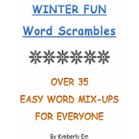 Winter Fun Word Scrambles: Over 35 Word Puzzles For All Ages - eBook](Word Scramble Halloween)