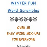 Winter Fun Word Scrambles: Over 35 Word Puzzles For All Ages - eBook