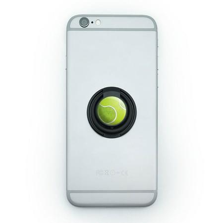 - Tennis Ball Sporting Goods Sportsball Mobile Phone Ring Holder Stand